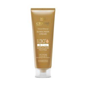 کرم ضد آفتاب رنگی سینره +SPF30