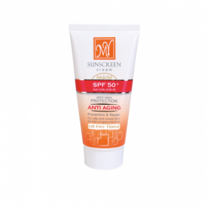 کرم ضد آفتاب فاقد چربی و رنگی SPF50 مای