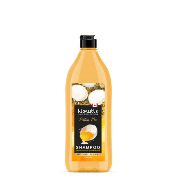 شامپو تخم مرغی پروتئین میکس نیوتیس